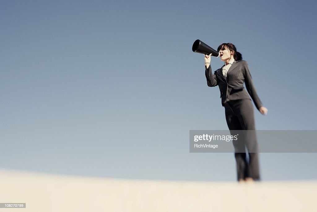 Listen Up! : Stock Photo