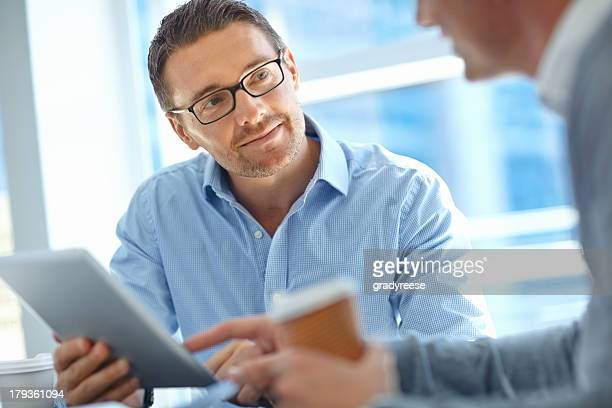 Listening to a colleague's corporate advice