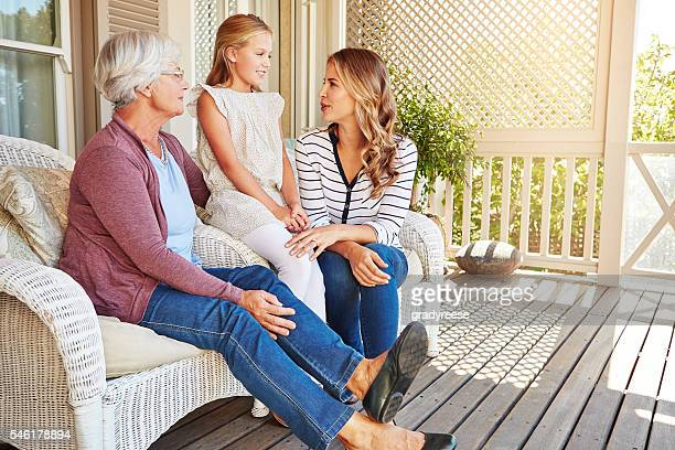 Listening to mum and granny