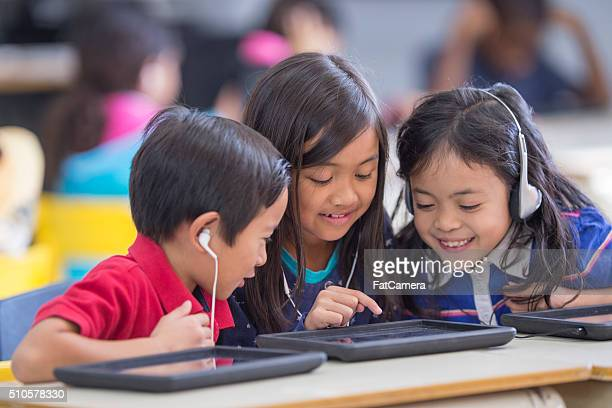 Listening to Music on a Tablet