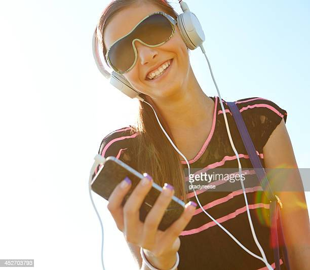 Listening to my favourite track