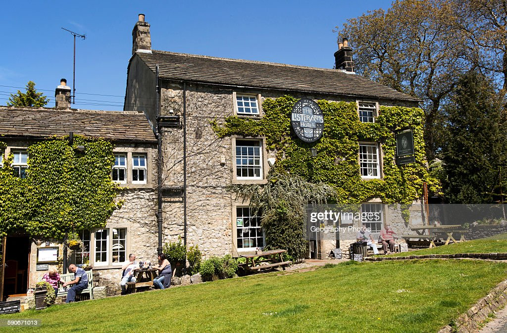 Lister Arms Hotel Malham Village Yorkshire Dales National Park England UK