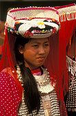 Lisu Woman at Songkran Festival Procession
