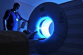 Magnetic Resonance Imaging machine AA a series of dramatically lightened MRI.