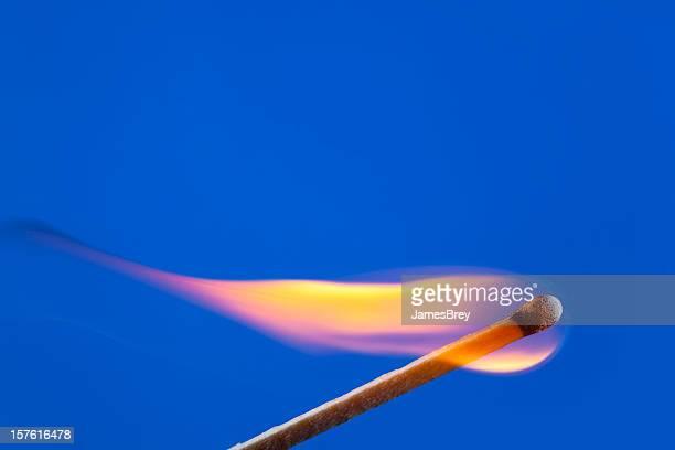 Lit Match Burning Sideways to Underline your Text
