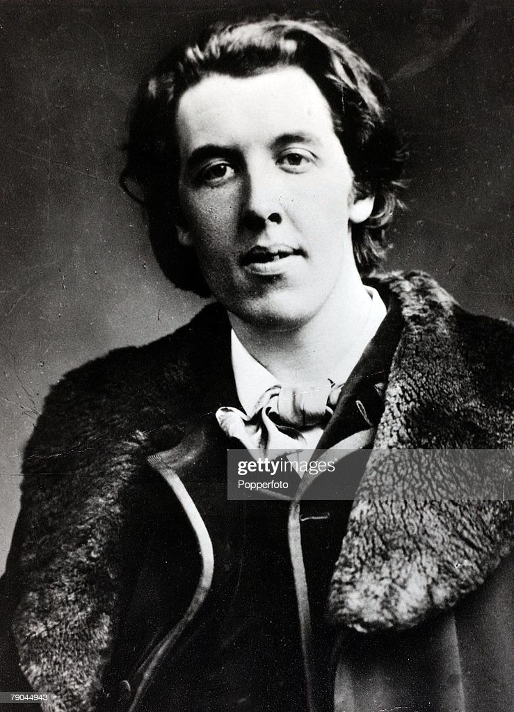 Literature, <a gi-track='captionPersonalityLinkClicked' href=/galleries/search?phrase=Oscar+Wilde&family=editorial&specificpeople=240419 ng-click='$event.stopPropagation()'>Oscar Wilde</a>, Irish writer and poet,