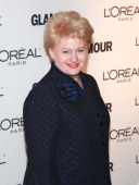 Lithuanian President Dalia Grybauskaite attends the 20th Annual Women of the Year awards hosted by Glamour Magazine at Carnegie Hall on November 8...