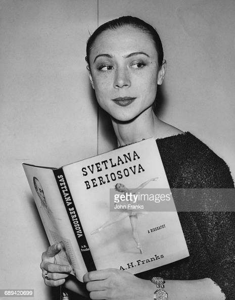 Lithuanianborn British ballerina Svetlana Beriosova during a publication party for her biography by A H Franks at the Royal Opera House Covent Garden...
