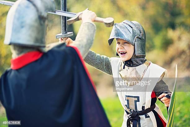 Litte knights Spaß fighting