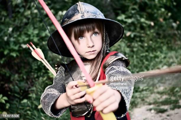 Little archer en bois