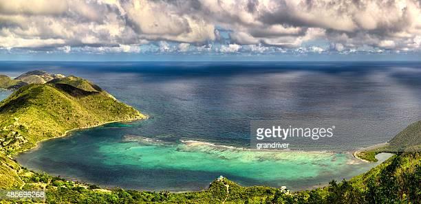 Little Bay and Dog Bay Virgin Gorda Panoramic