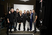 Little Big Town and Rascal Flatts stops by the CBS Photo Booth during the 51st ACADEMY OF COUNTRY MUSIC AWARDS cohosted by Luke Bryan and Dierks...