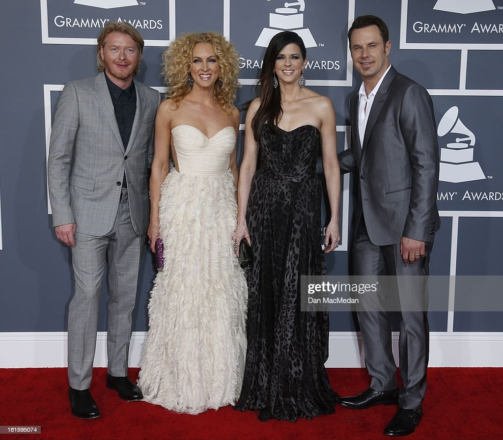 Little Big Town arrives at the 55th Annual Grammy Awards at the Staples Center on February 10 2013 in Los Angeles California