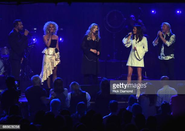 Little Big Town At The Mother Church Surprise guest Alison Krauss joins Jimi Westbrook Kimberly Schlapman Karen Fairchild and Phillip Sweet on stage...