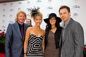 Little Big Town attends the 136th Kentucky Derby on May 1 2010 in Louisville Kentucky