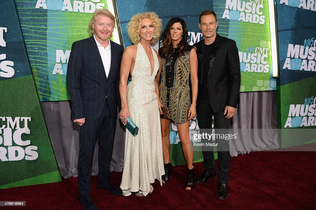 Little Big Town attends the 2015 CMT Music awards at the Bridgestone Arena on June 10 2015 in Nashville Tennessee