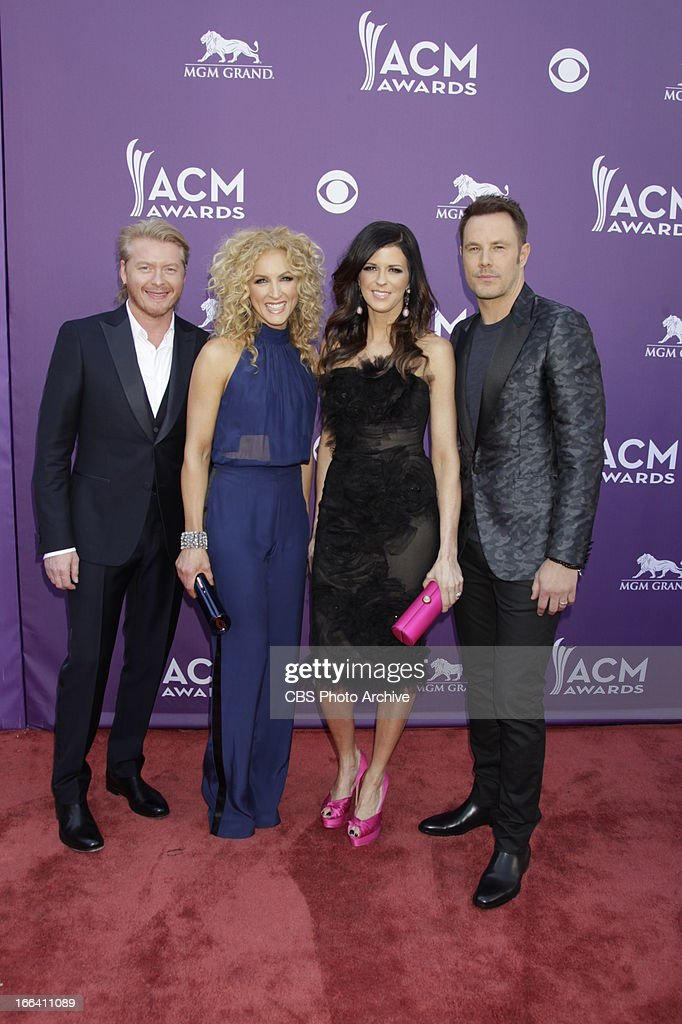 Little Big Town on the Red Carpet at The 48th Annual Academy of Country Music Awards, which will be co-hosted by Luke Bryan and Blake Shelton, will be broadcast live from the MGM Grand Garden Arena in Las Vegas Sunday, April 7 (8:00-11:00 PM live ET/delayed PT) on the CBS Television Network.