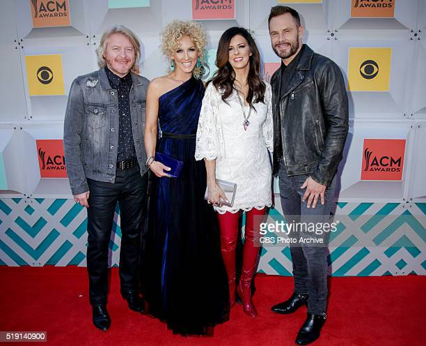 Little Big Town on the Red Carpet at the 51st ACADEMY OF COUNTRY MUSIC AWARDS cohosted by Luke Bryan and Dierks Bentley from the MGM Grand Garden...