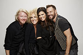 Little Big Town stops by the CBS Photo Booth during the 51st ACADEMY OF COUNTRY MUSIC AWARDS cohosted by Luke Bryan and Dierks Bentley from the MGM...