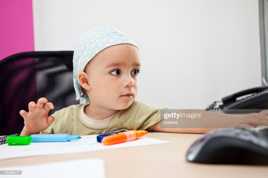 Little boss : Stock Photo