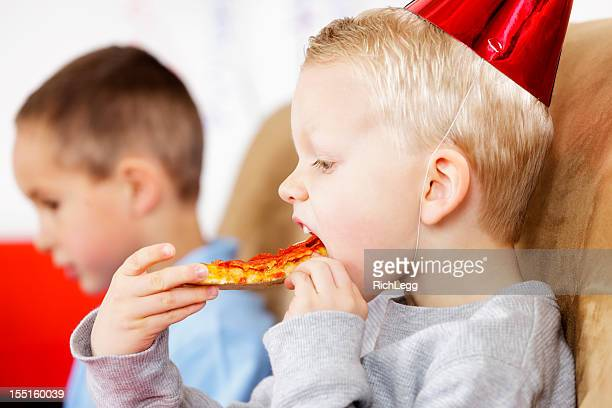 Little Boy at a Birthday Party