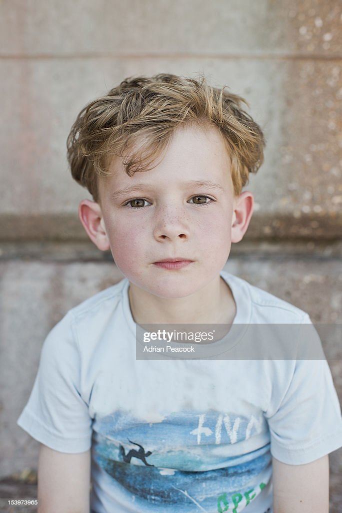 little boy at the beach : Stock Photo