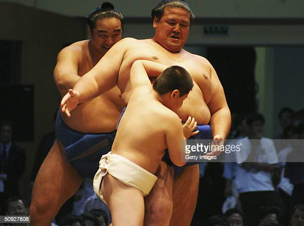 Arm championship midget pro sumo wrestling for