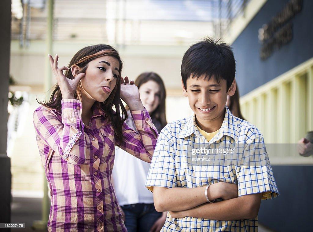 Little Boy Being Bullied