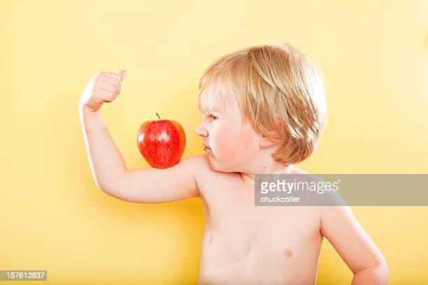 Starke gesunden Jungen