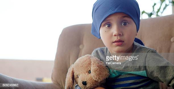 Little Boy Getting Chemotherapy