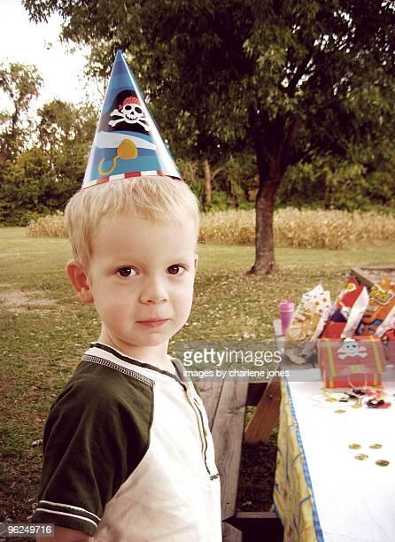 Little boy pirate birthday party