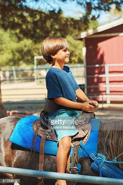 Little Boy Pony Ride