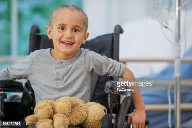 Little Boy Smiles and Learns to Move Again