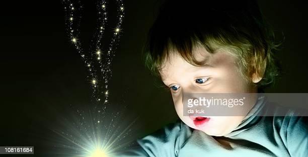 Little Boy 見つめるでオルブの光