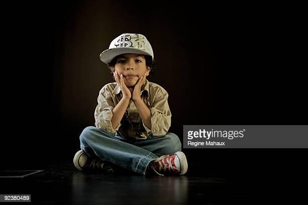 Little Boy with cap