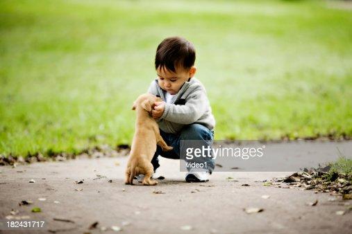 Little Boys Puppy