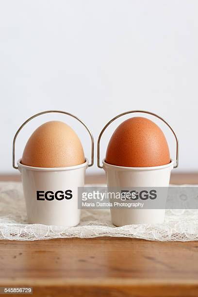 Little buckets with Eggs