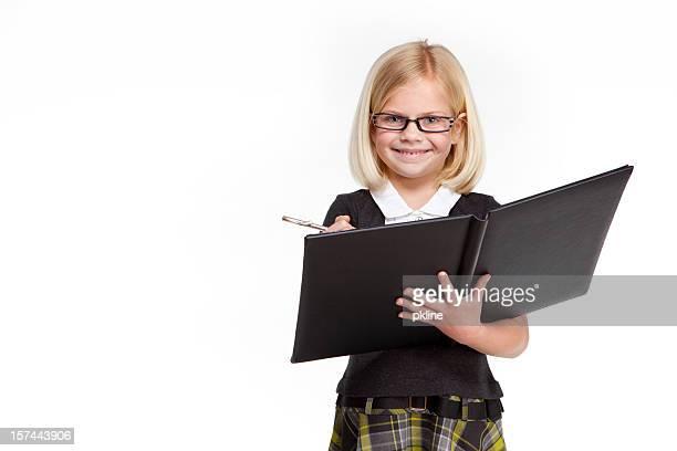 Petite fille d'affaires
