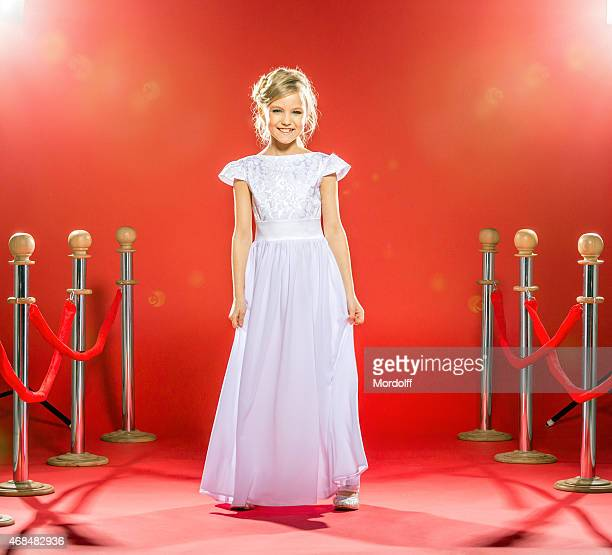 Little Celebrity On Red Carpet