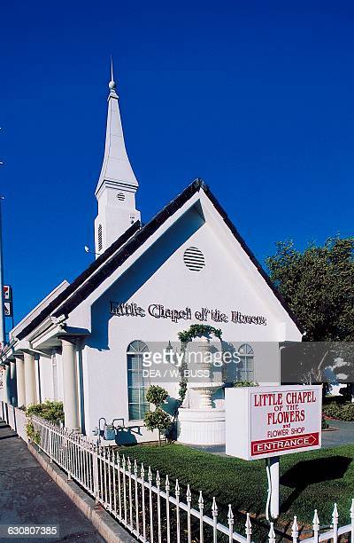Little Chapel of the Flowers wedding chapel Las Vegas Nevada United States of America