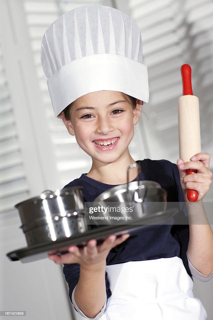 Little Chefkoch : Stock-Foto