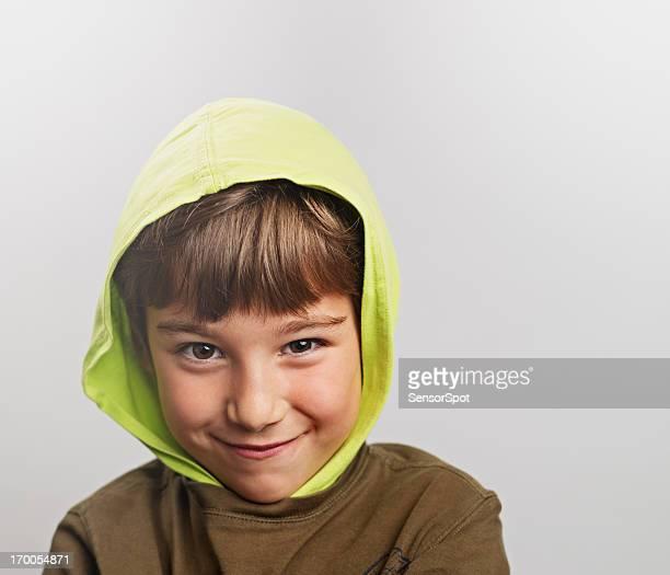 Petit enfant souriant