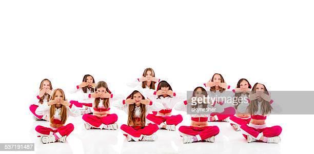 Little dancers.