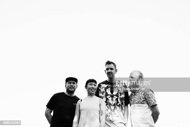 Little Dragon poses for a portrait at the Governors Ball 2015 Music Festival for Billboard Magazine on June 6 2015 in New York City