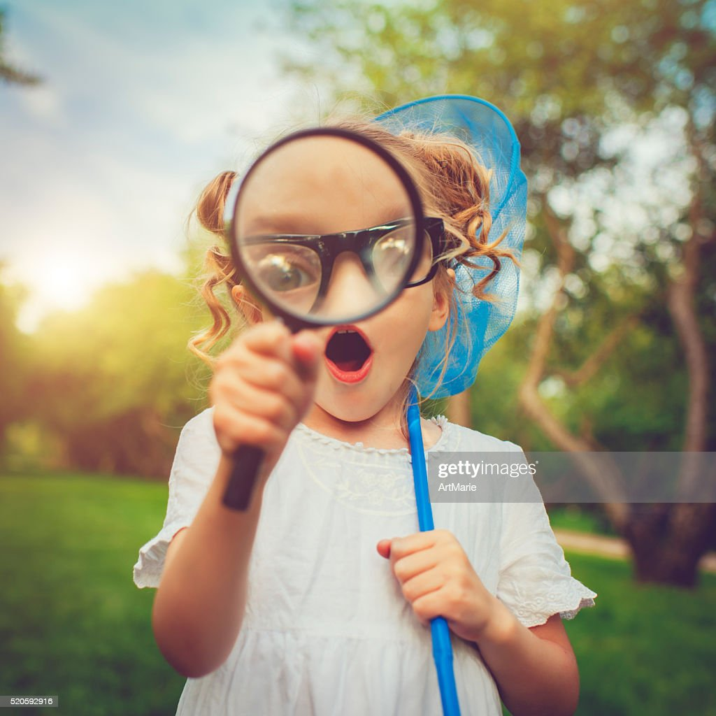 Little explorer : Stock Photo