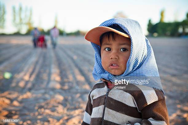Little agricultor