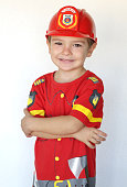 Little firefighter