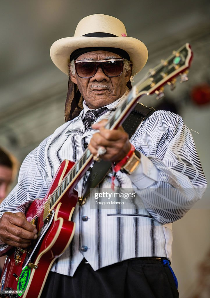 Little Freddie King performs during the 2012 Voodoo Experience at City Park on October 26, 2012 in New Orleans, Louisiana.