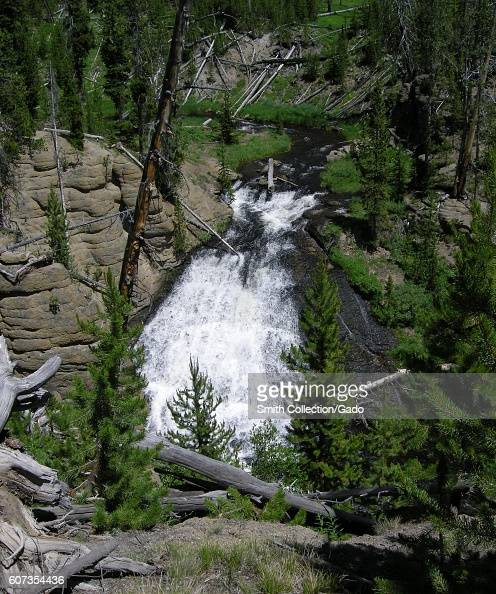 Little Gibbon Falls on the Gibbon River Yellowstone National Park Wyoming July 2011 Image courtesy Diane Renkin/Yellowstone National Park