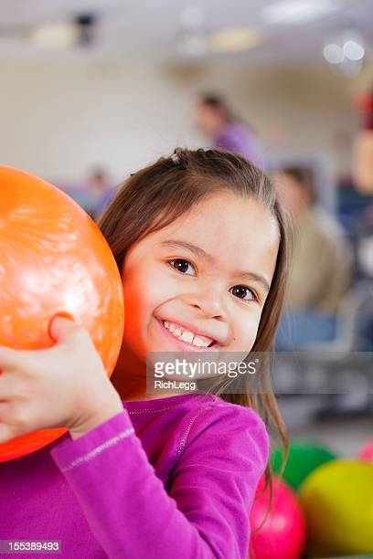 Little Girl Bowler